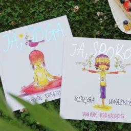 Joga i medytacja w książkach dla dzieci - nowości wydawnictwa Mamania