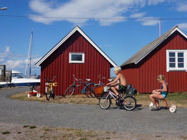 Rowerowa wyprawa z dziećmi - Szwecja, jaką znacie z książek