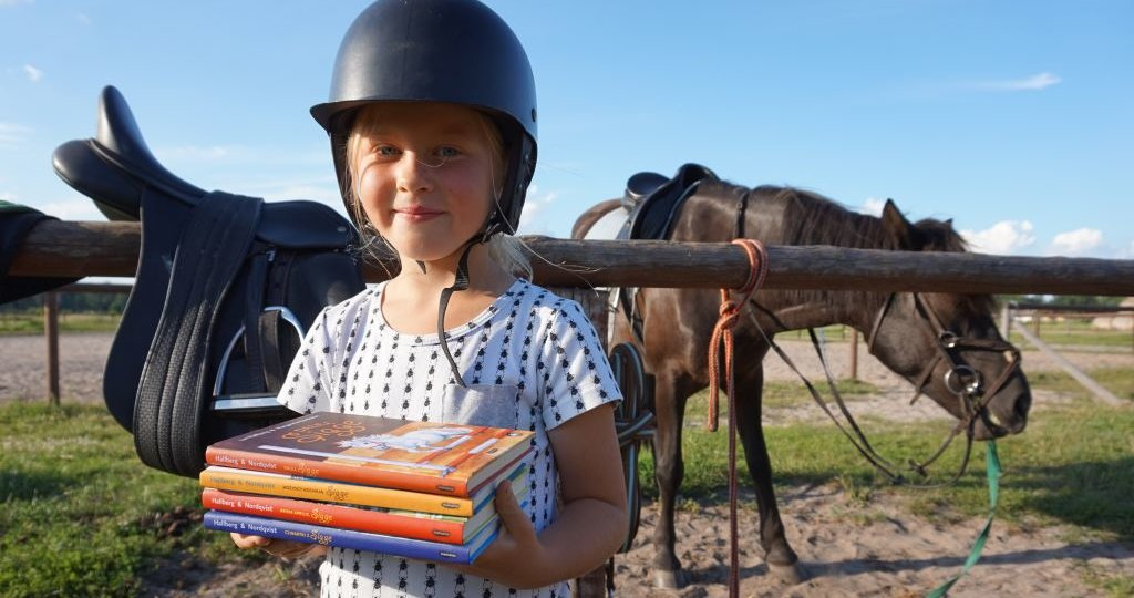 Książki dla dzieci, które kochają konie - seria o Sigge od Mamania