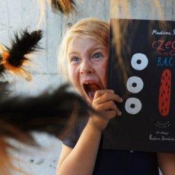 Książka dla dzieci, które boją się pająków