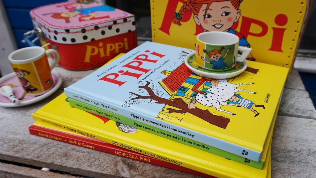 Ilustrowane książki o Pippi dla najmłodszych - ZAKAMARKI