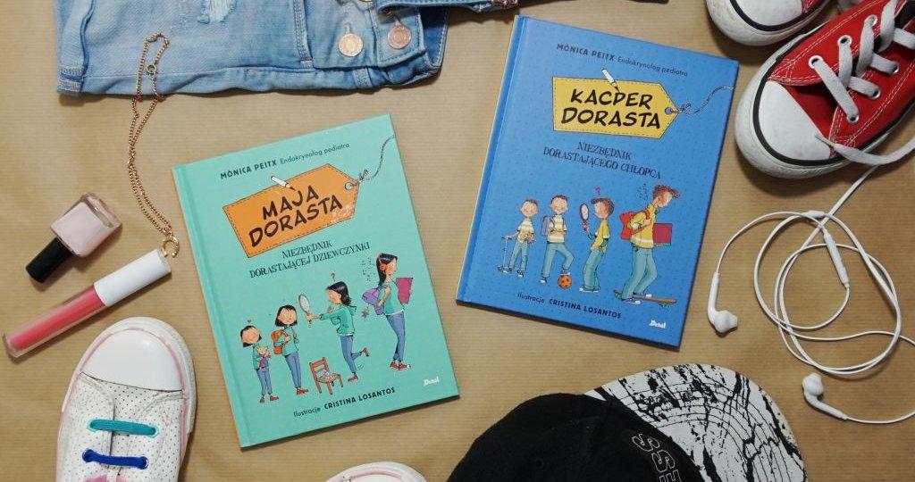 Książki dla dzieci o dorastaniu
