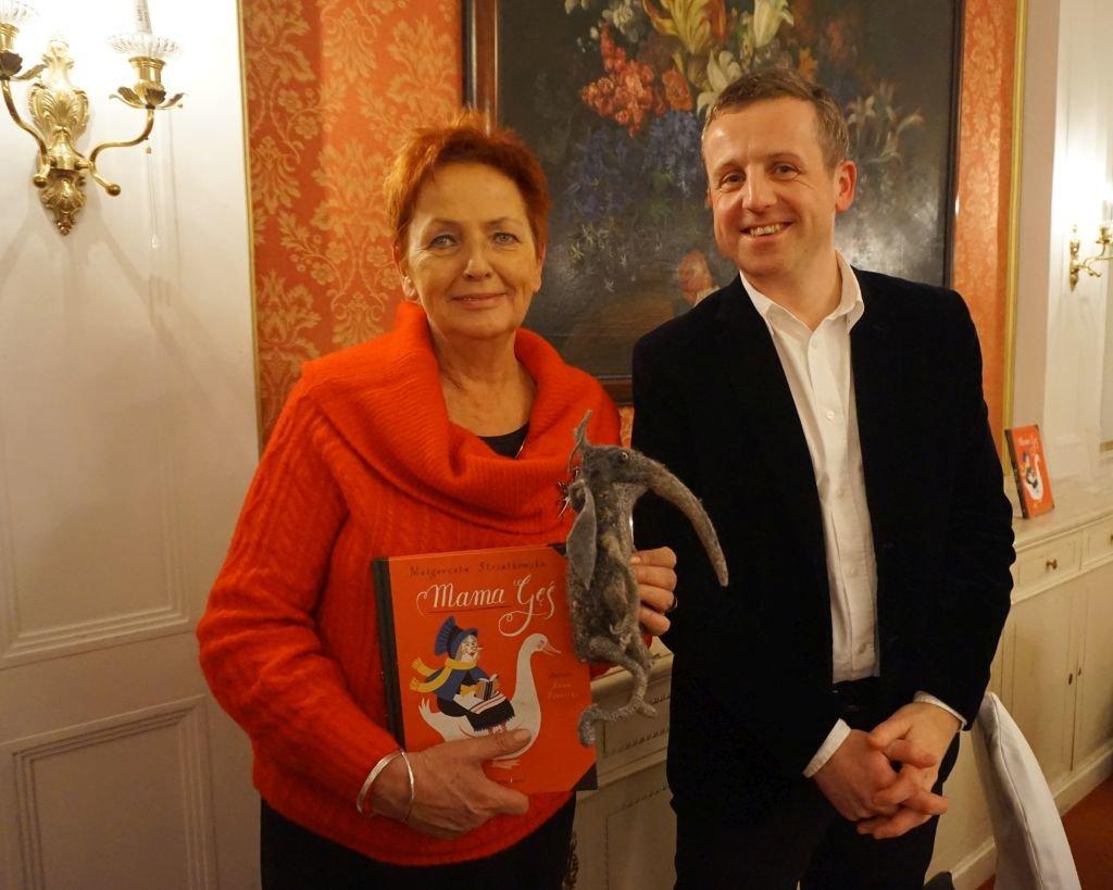 Małgorzata Strzałkowska i Adam Pękalski