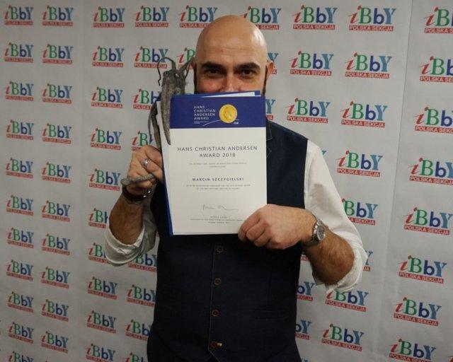 Marcin Szczygielski nominowany do Medalu im. Hansa Christiana Andersena