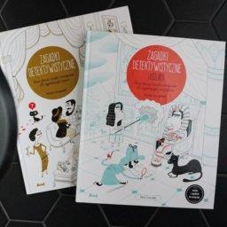 Zagadki detektywistyczne - książki dla dzieci trenujące logiczne myślenie