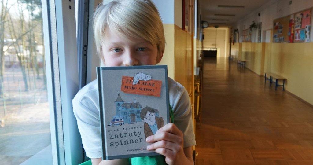 Feralne Biuro Śledcze - Zatruty spinner - nowa seria detektywistyczna dla dzieci