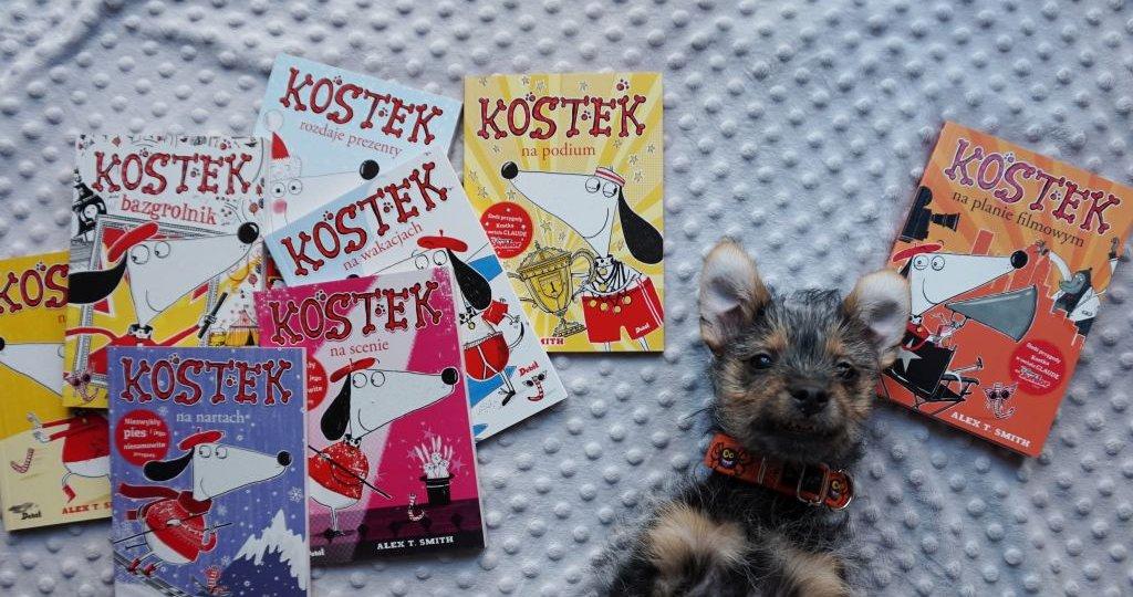 KOSTEK - seria książek o niesfornym psie