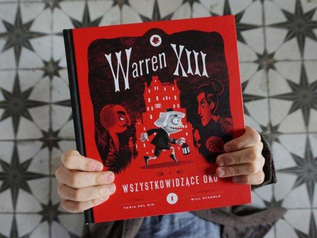 Warren XIII Wszystkowidzące oko - pierwszy tom nowej serii dla dzieci