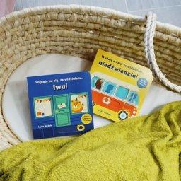 Książki dla najmłodszych z ruchomymi elementami