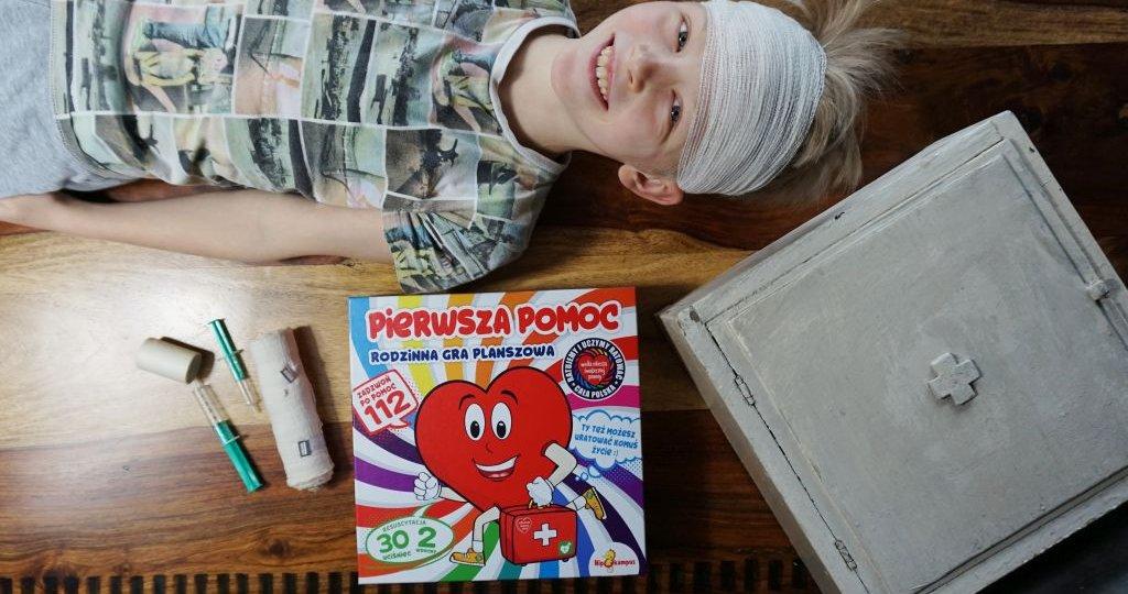 """Gra planszowa """"Pierwsza pomoc"""" oparta o program WOŚP"""