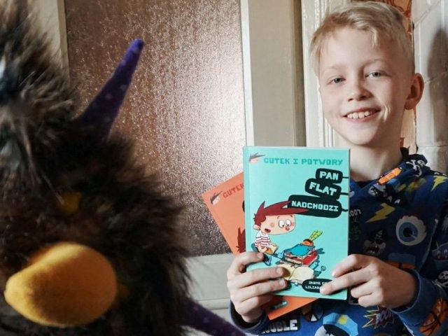 Gutek i potwory - seria, która zachęca dziecko do czytania