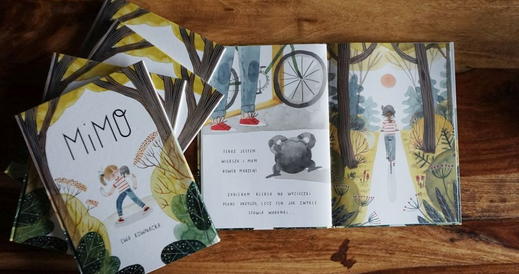 MIMO - książka, która zachęci dziecko do kasku, ochraniczy i fotelika