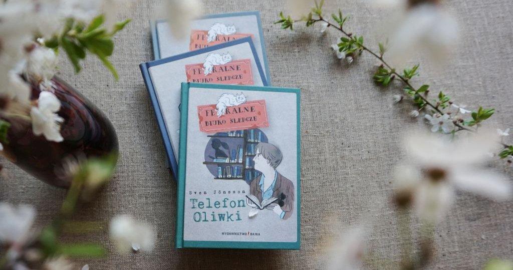 Telefon Oliwki - wiosenna nowość w serii Feralne Biuro Śledcze