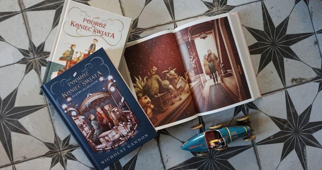 Podróż na koniec świata. Klątwa Helmsleyów – Nicholas Gannon