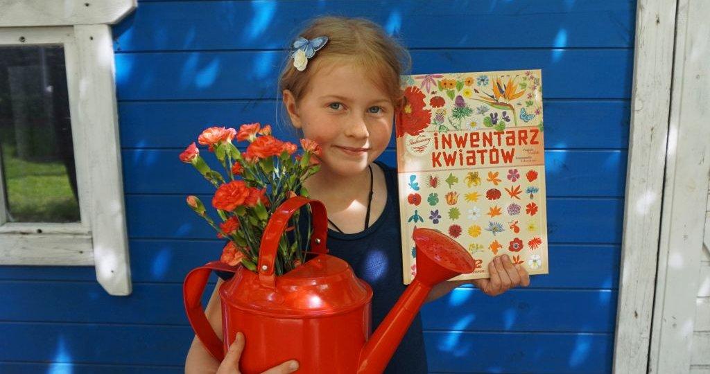 Ilustrowany inwentarz kwiatów - nowość wydawnictwa Zakamarki