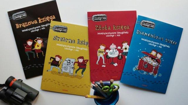 Detektywistyczne łamigłówki Lassego i Mai - Brązowa, Srebrna, Złota i Diamentowa księga