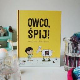 """Książka do skutecznego zasypiania """"OWCO, ŚPIJ!"""" Kerry Lyn Sparrow"""