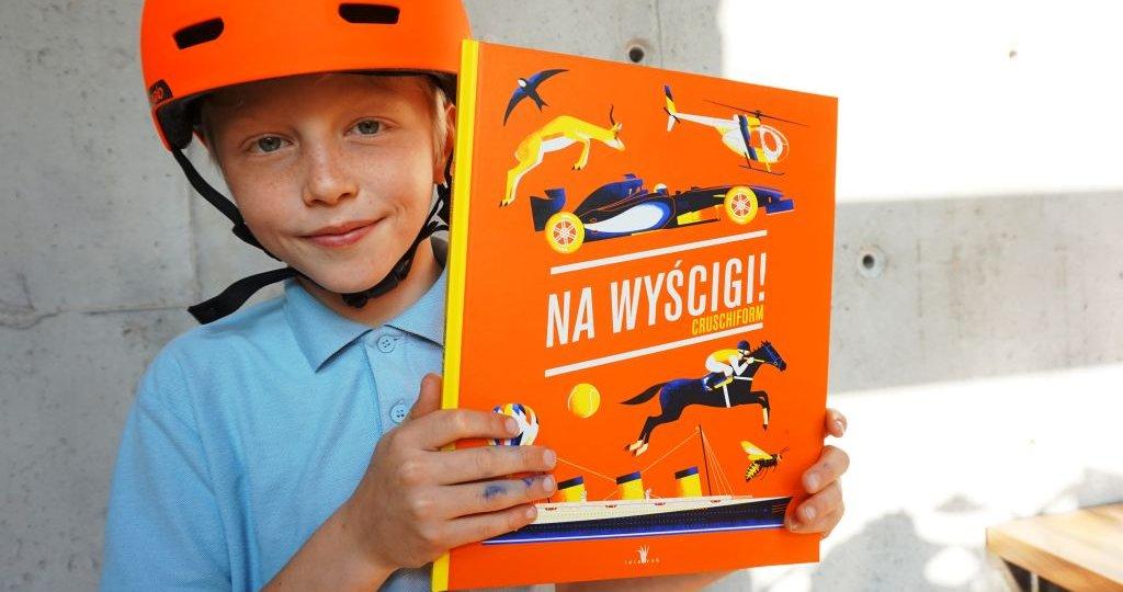 Na wyścigi! - niesamowicie zilustrowana księga prędkości dla dzieci