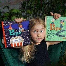 Pierwszy raz w kinie i u fryzjera z Pepe - książki dla dzieci z dyplomami