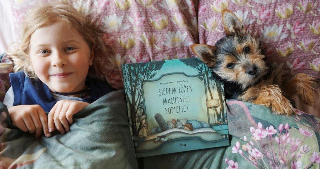 Siedem łóżek malutkiej Popielicy - książka dla tych, co się boją sami spać