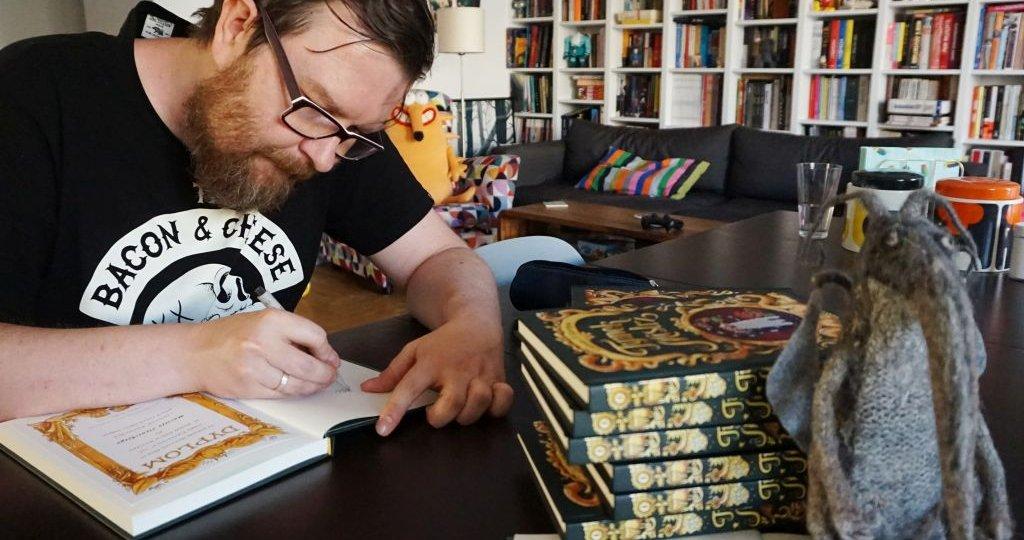 Tomasz Leśniak - rysownik, animator i twórca komiksowy