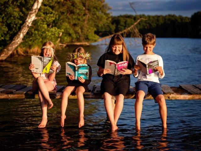 Przygody Majki i ciabci - najlepsze książki na wakacje!