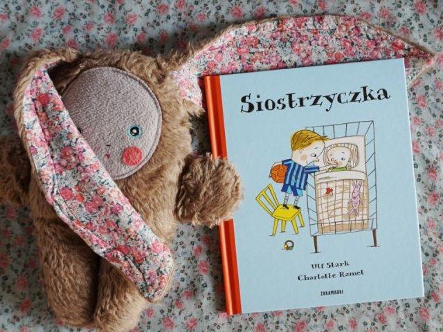 Siostrzyczka - książka o pojawiającym się rodzeństwie