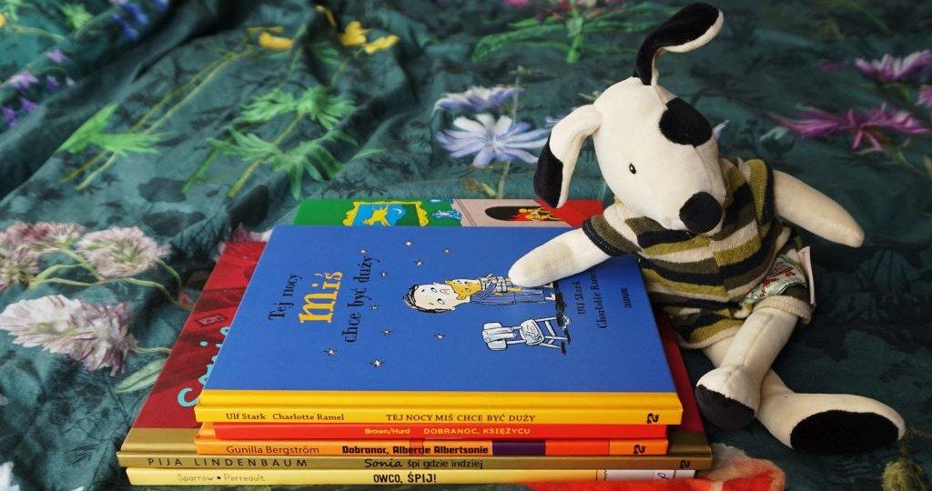 Najlepsze książki dla dzieci o zasypianiu
