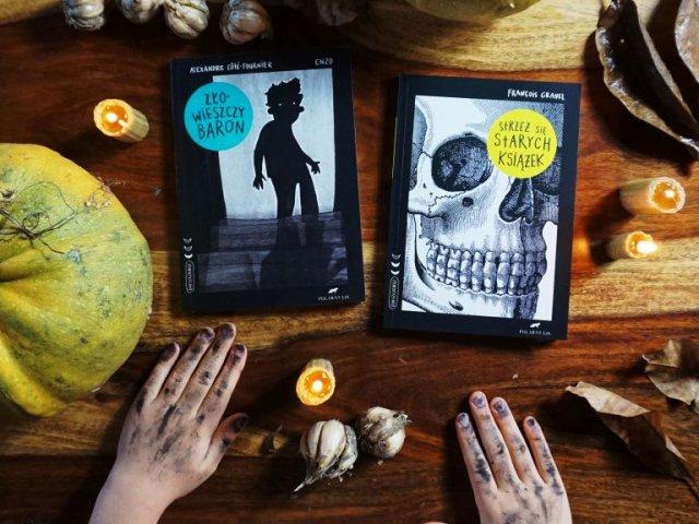 """Seria """"Dreszczowce"""" - kryminały, horrory i thrillery dla dzieci"""
