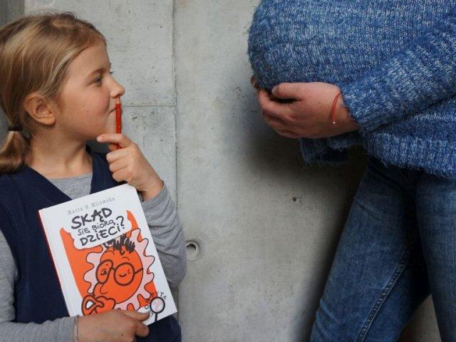 Skąd się biorą dzieci? - nowość w cyklu Leon pyta