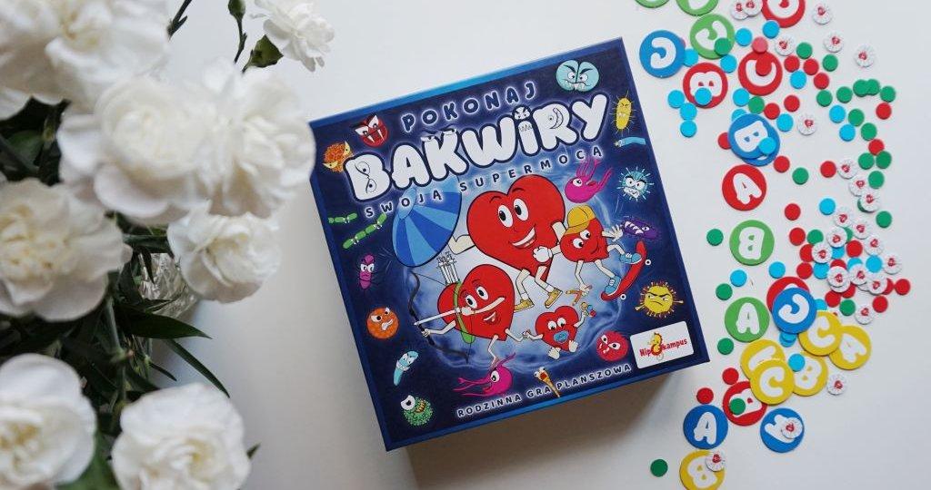 Pokonaj Bakwiry swoją supermocą - rodzinna gra planszowa Było Sobie