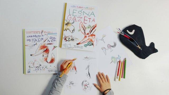 Lisek i Prosiaczek - popularna norweska seria dla dzieci w Polsce