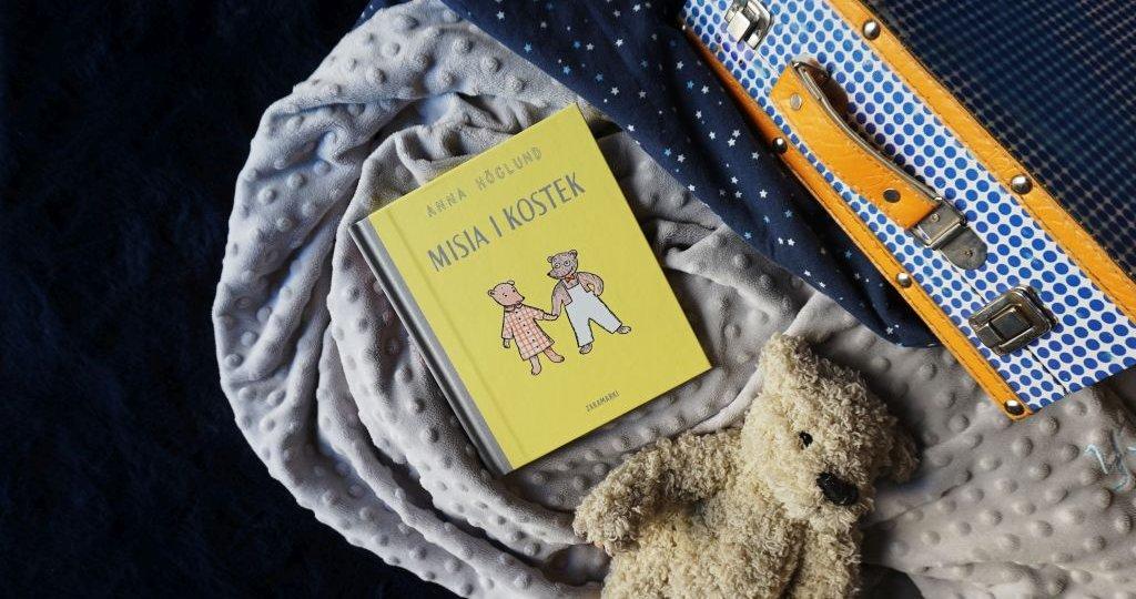 Misia i Kostek - książka dla dzieci, które nie lubią rozstań