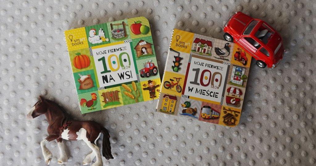 Moje pierwsze 100 słów - seria kartonówek dla najmłodszych