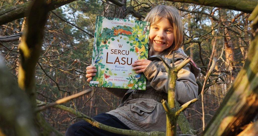 W sercu lasu. Wędrówka po lasach świata - przepiękny album dla dzieci
