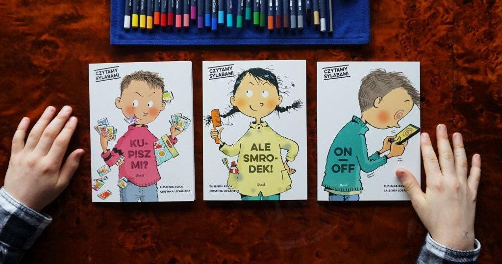 Czytamy sylabami - nowa seria do nauki czytania dla dzieci 6+