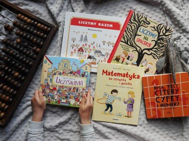 Najlepsze książki dla dzieci do zabaw z matematyką