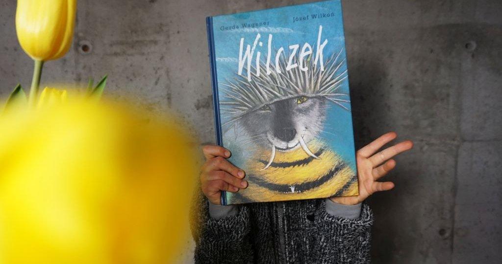Wilczek - książka o inności i tolerancji z ilustracjami Józefa Wilkonia
