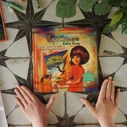 Tajemnica babci Teimy - książka dla dzieci o sztuce i sile tworzenia