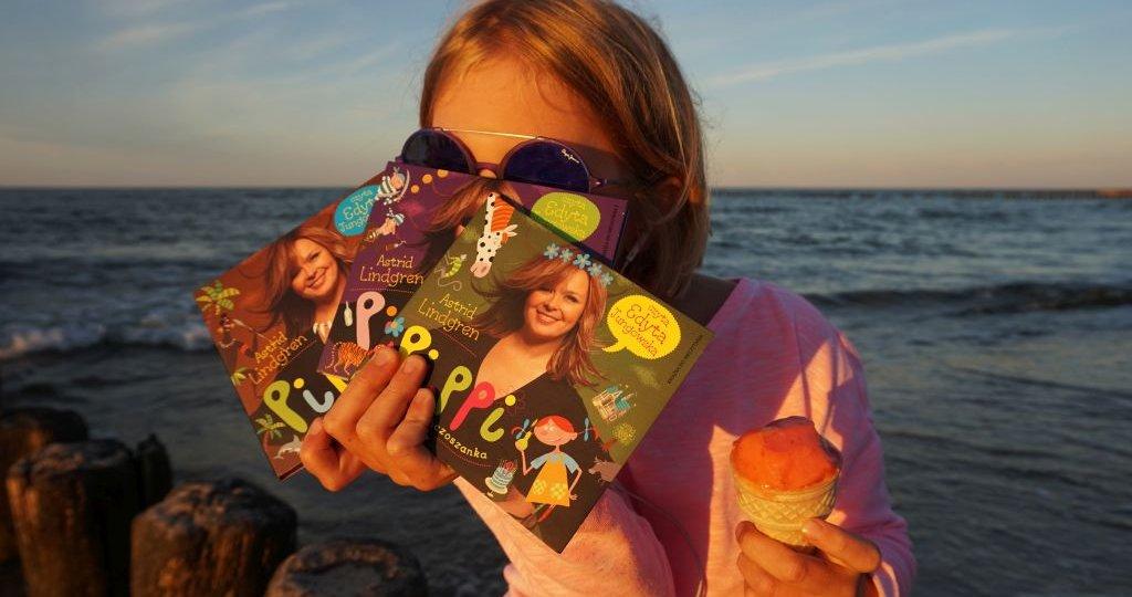 Audiobooki Pippi Pończoszanka, Edyta Jungowska i urodzinowy konkurs Lato z Pippi