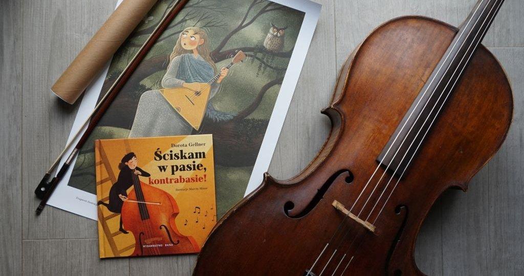 Ściskam w pasie, kontrabasie! Muzyczna nowość Doroty Gellner i Marcina Minora