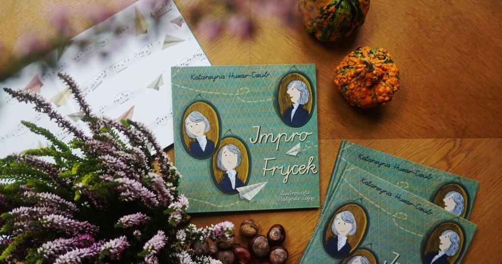 Impro Frycek - książka dla dzieci o Fryderyku Chopinie
