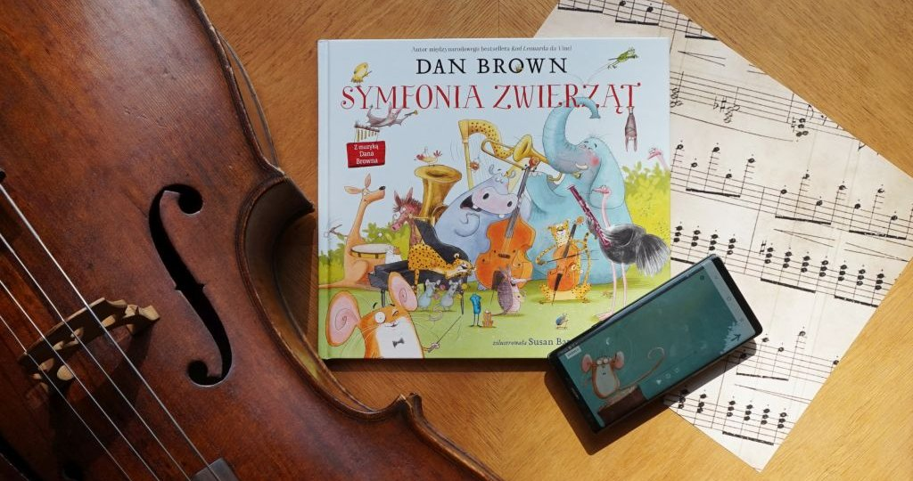 Symfonia zwierząt - książka z muzyką Dana Browna