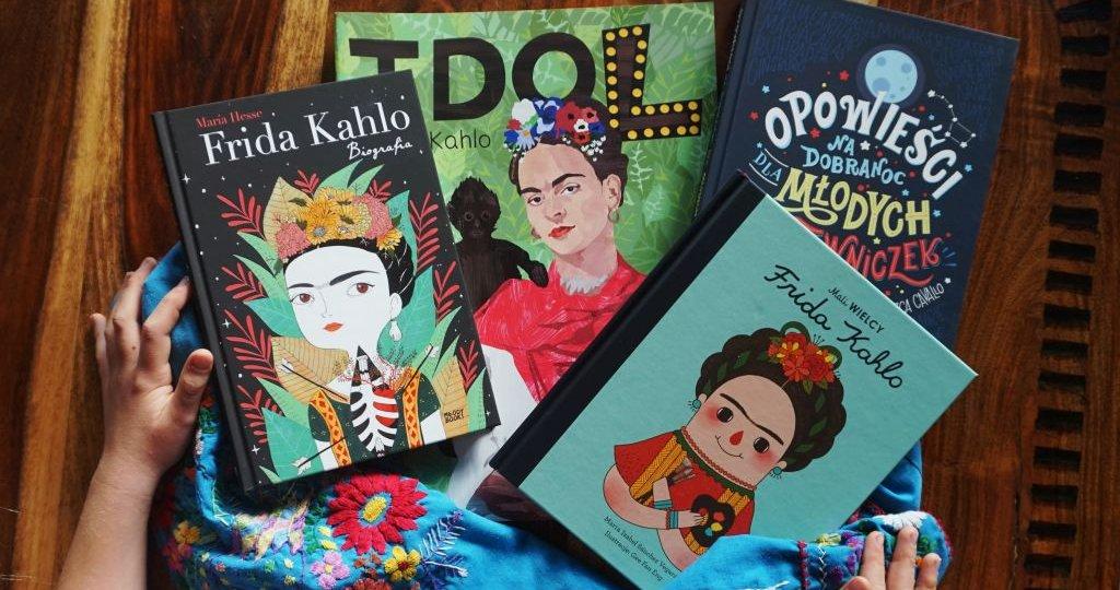 Frida Kahlo w książkach dla dzieci i młodzieży