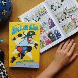 Roller Girl. Dziewczyna z pasją - komiks o pokonywaniu własnych słabości