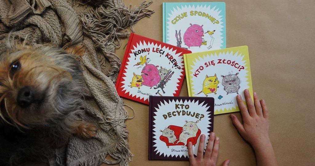Niewielkie książki o wielkich emocjach - Stina Wirsén w Polsce