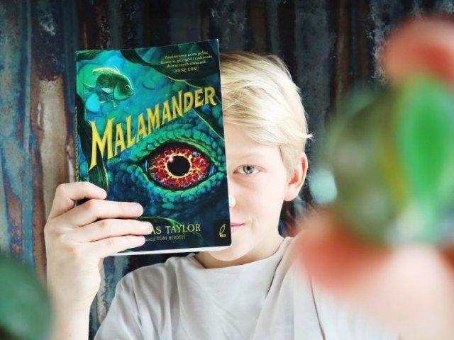 Malamander- nowa przygodowa trylogia fantasy