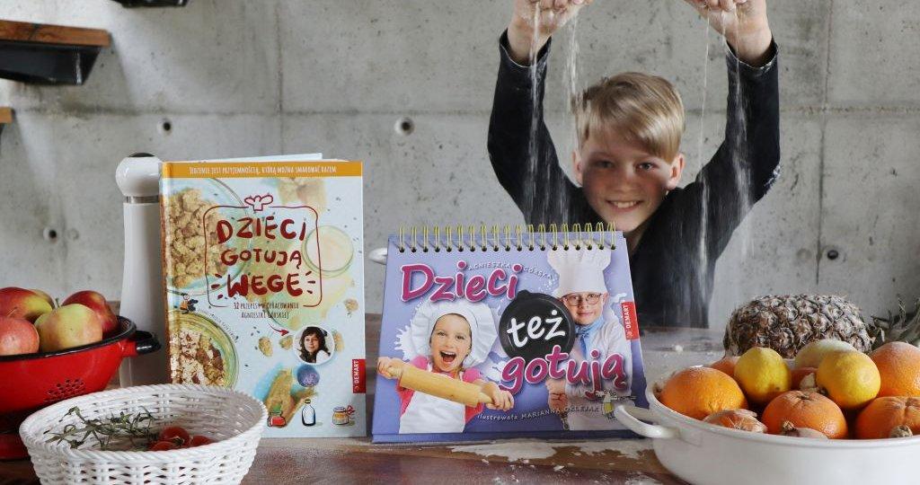 Książki kucharskie dla dzieci Agnieszki Górskiej