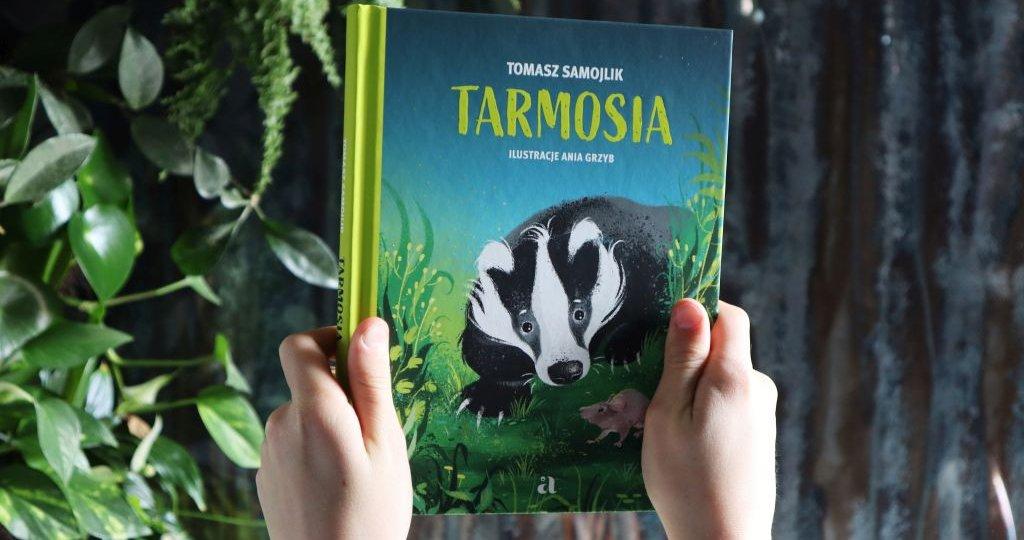 Tarmosia - powieść dla dzieci o życiu borsuków
