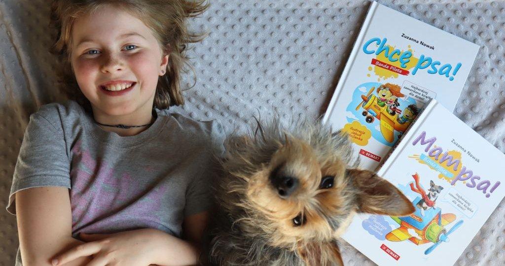 Książki dla dzieci, które chcą mieć psa